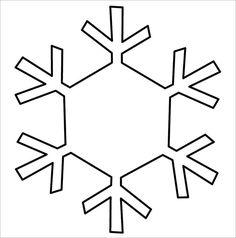 15+ Free Snowflake Template - Free Printable Word, PDF, JPEG Format Download   Free & Premium Templates