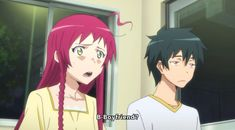 the devil is a part timer maou and emi - Google Search