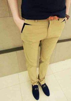 Creative or unusual pockets (selection) Danilo Huvos Fashion Moda, Sport Fashion, Fashion Pants, Mens Fashion, Men Trousers, Men's Pants, Herren Outfit, Men Style Tips, Cotton Pants