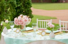 Juneberry Lane: Palette of a Party: Color Inspiration in Mint, Blush, & Gold Leaf!!