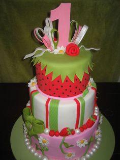 Strawberry Shortcake on Cake Central
