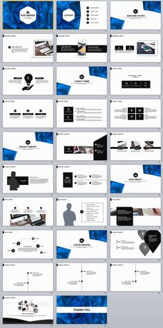 30 blue business report powerpoint template design presentation 29 best slide report powerpoint templates toneelgroepblik Gallery