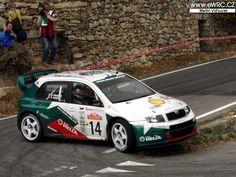 San Remo 2003 - Auriol Didier - Giraudet Denis icon Škoda Fabia WRC