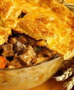 While We Like Shepherd's Pie Just Fine, This Steak and Guinness Pie Is Definitely Our Favorite!