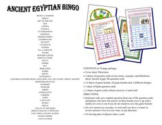 Teacher Lingo is a community where teachers can buy and sell their original teaching resources including worksheets, lesson plans, handouts, printables, quizzes and flashcards. Upload your teaching resources and start earning extra money today. Ancient Egypt Lessons, Ancient History, Egyptian Crafts, Classroom Games, Classroom Ideas, How To Get Followers, Study History, Story Of The World, Bingo Games