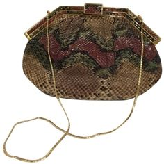 Shop new and gently used Judith Leiber Bags and save up to at Tradesy, the marketplace that makes designer resale easy. Shoulder Handbags, Shoulder Bags, Designer Resale, Judith Leiber, Brown Purses, Change Purse, Vintage Handbags, Evening Bags, Coin Purse