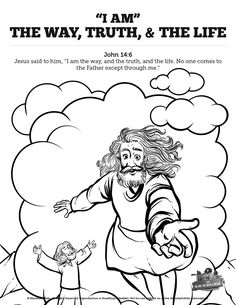Hebrews 11 Saving Faith Sunday School Coloring Pages: Your kids ...