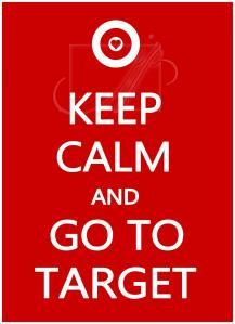 Go to Target! This one is repinned for my son who has patience when Target consumes me:)