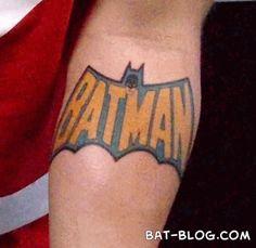 OOOO Batman tattoo!