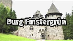 Burg Finstergrün_ Finstergrün Castle Finstergrün Is a castle in the state of Salzburg, Austria. Burg Finstergrün is metres ft) above sea level. Beautiful Castles, Sea Level, Salzburg, Austria, Mansions, House Styles, Manor Houses, Villas, Mansion