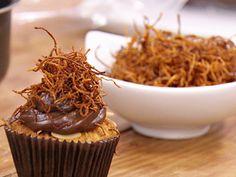 Cupcake funcional de cenoura