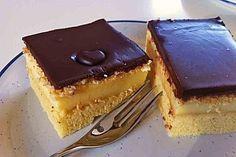 Schoko-Pudding-Kuchen vom Blech (Rezept mit Bild) | Chefkoch.de