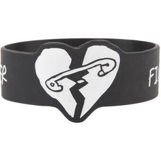 Five Seconds Of Summer Die-Cut Heart Rubber Bracelet Hot Topic ($5.60) ❤ liked on Polyvore featuring jewelry, bracelets, heart jewellery, rubber bangles, heart-shaped jewelry, heart bangle and rubber jewelry