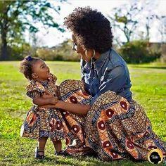 Mom and baby Ankara