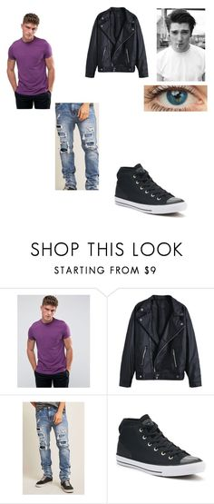 """Milo son of Hercules"" by naomi847 ❤ liked on Polyvore featuring ASOS, 21 Men, Converse, men's fashion and menswear"