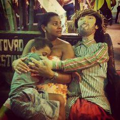 """""""le père adoptif"""",Feira de São Cristóvão — 2012"""
