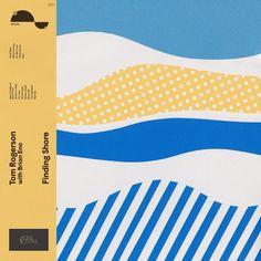 Tom Rogerson with Brian Eno Finding Shore Colored Vinyl LP Limited Edition Opaque Blue Vinyl LP Only 1500 Copies! Unique Collaboration Heralds A New Voice Web Design, Design Blog, Print Design, Design Ideas, Blog Logo, Vejle, Design Digital, Lp Vinyl, Portfolio