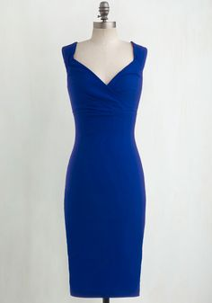 Lady Love Song Dress in Sapphire, @ModCloth
