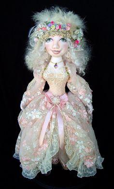 Cinderella Doll Pattern Designed by Caroline Erbsland
