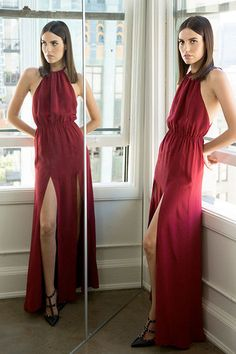 ONYX GOWN - Red