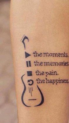4 Tattoo, Tattoo For Son, Dad Tattoos, Music Tattoos, Tattoos For Daughters, Finger Tattoos, Tattoo Quotes, Tatoos, Ocean Quote Tattoos