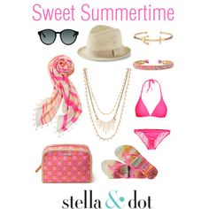 Stella & Dot Summer 2015 by caseyeking on Polyvore featuring polyvore, fashion, style, Havaianas and Express