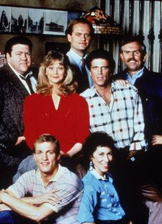10 Most Memorable Sitcom Finales: 'Cheers' (NBC, Cheers Tv Show, Kelsey Grammer, Old Shows, Comedy Tv, Old Tv, Classic Tv, Best Tv, Favorite Tv Shows, Comedians