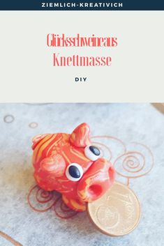 Glücksschwein aus Knete