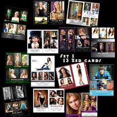 free comp card template - photoshop group collage templates for photographers 20