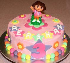 Dora the Explorer Cake by Kat's Cakes, via Flickr