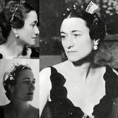 The STOLEN 'Windsor Cartier Tiara' for the Duchess of Windsor. Tiara made by #cartier in 1936. In October 1946, they took up temporary lodgings at Claridges so the Duke and Duchess of Windsor could make a private visit to England. The two were visiting Ednam Lodge in Berkshire; home to the Earl and Countess of Dudley when it was stolen. #theduchessofwindsor