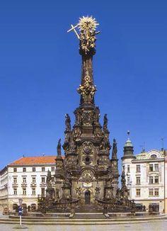 Andreas Zahner - sloup Nejsvětější trojice Olomouc - 1754