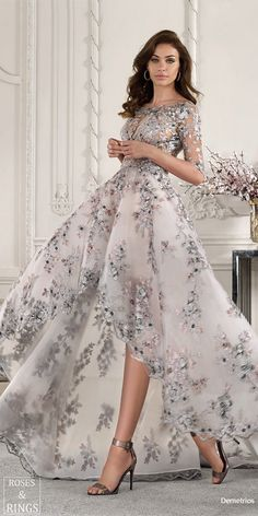 Demetrios 2019 Wedding Dresses With a perfect blend of romanticism and the latest trends, the Demetiros Wedding Dress Collection is set to be a favourite with the brides of The Elegant Dresses, Pretty Dresses, Sexy Dresses, Fashion Dresses, Prom Dresses, Spring Formal Dresses, Awesome Dresses, Dresses 2016, Dresses Online