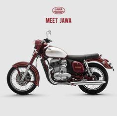 Rebirth of the Legend -JAWA! - Fart Magazine - Cars and motorcycles - Motorrad European Motorcycles, Cool Motorcycles, Vintage Motorcycles, Tracker Motorcycle, Motorcycle Design, Bike Design, Moto Jawa, Jawa 350, Lanz Bulldog