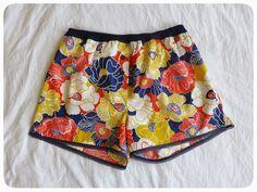 Summer sleepwear: Darcy boxers