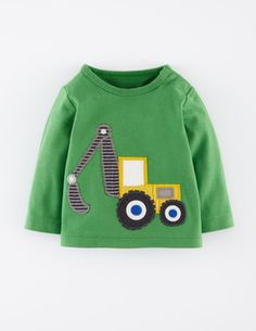 Vehicle Appliqué T-Shirt (Mini Boden 0-3y)