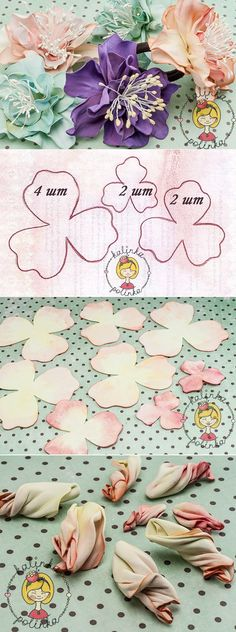Diy And Craft - Make everything whatever you want. Leather Flowers, Faux Flowers, Diy Flowers, Fabric Flowers, Fabric Crafts, Paper Crafts, Diy Fleur, Wafer Paper Flowers, Fleurs Diy