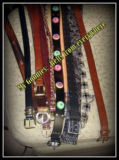 Future recycled belt bracelets