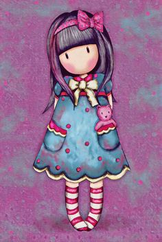 Qu'est ce que j'ai fais? Bear Wallpaper, Girl Wallpaper, Cute Images, Cute Pictures, Kawaii, Illustrations, Cute Illustration, Cute Cartoon, Cute Drawings