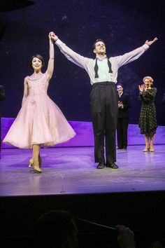 Leanne Cope and Robert Fairchild in AN AMERICAN IN PARIS