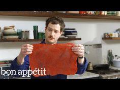 Making Fruit Roll-Ups With Kombucha SCOBY   Bon Appetit