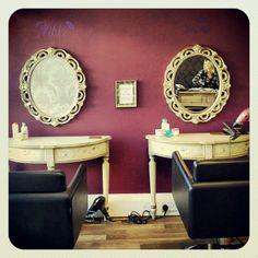 My hair salon.