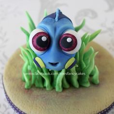 Baby Dory Cake Topper!  on Cake Central