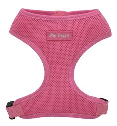 Award Winning, Hip Doggie Ultra Comfort Pink Mesh Harness Vest - 3XL *** Remarkable product available now. : Harnesses for dogs