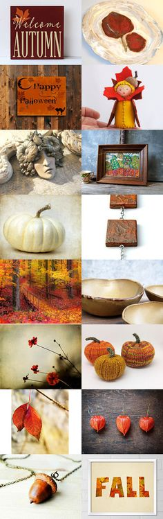 Welcome Autumn by Christa Brenner on Etsy--Pinned with TreasuryPin.com