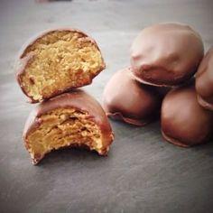 Paleo Nut Butter (Reese's) Eggs Recipe #paleo #grainfree #glutenfree #easter
