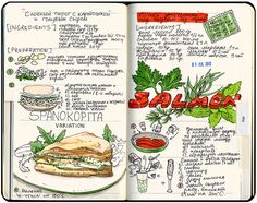 Recipe Journal by Sally Mao