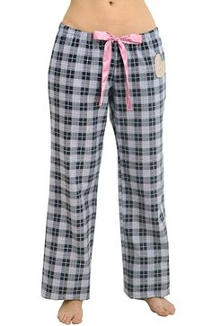 Women's Cotton Flannel Pajama Set - Stripes Pink - Large | winter ...