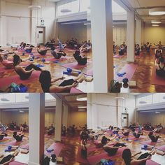 Love Mondays!!!! Full of energy and ready to work hard...full house  lunchtime #pilates #class @indabayoga. Thank you for coming everyone....#haveagreatweek #workhard #balance #control #coordination #teaser #myfave #fitfam #fitspo #fitness #fitlondoners #pilatesfit #pilateslondon #pilateseveryday by antonia_pilates