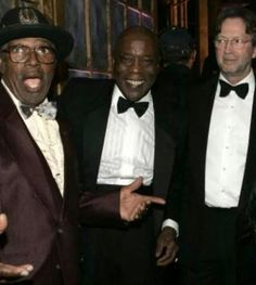 Bo Diddley. Muddy Waters. Eric Clapton